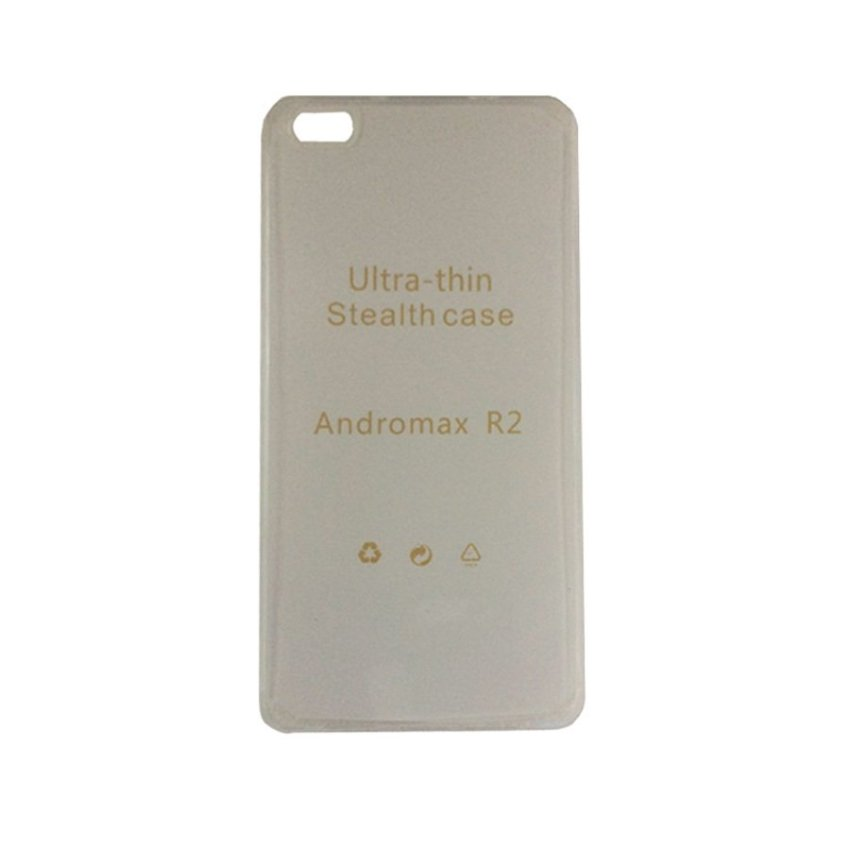Mr UltraThin Softcase Andromax R2 - Transparant