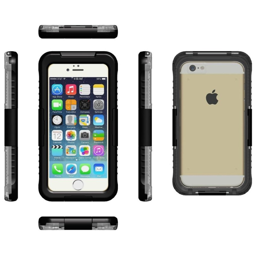 Multi Function Full Protective Case for Iphone 6 4.7 Inch (Black)