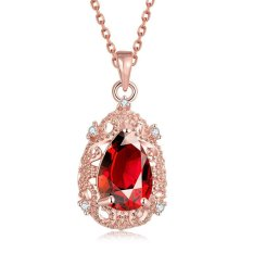 N108-B High Quality Zircon Necklace Fashion Jewelry Free Shopping 18K Gold Plating NecklaceN108-C High Quality Zircon Necklace Fashion Jewelry Free Shopping 18K Gold Plating Necklace (Intl)