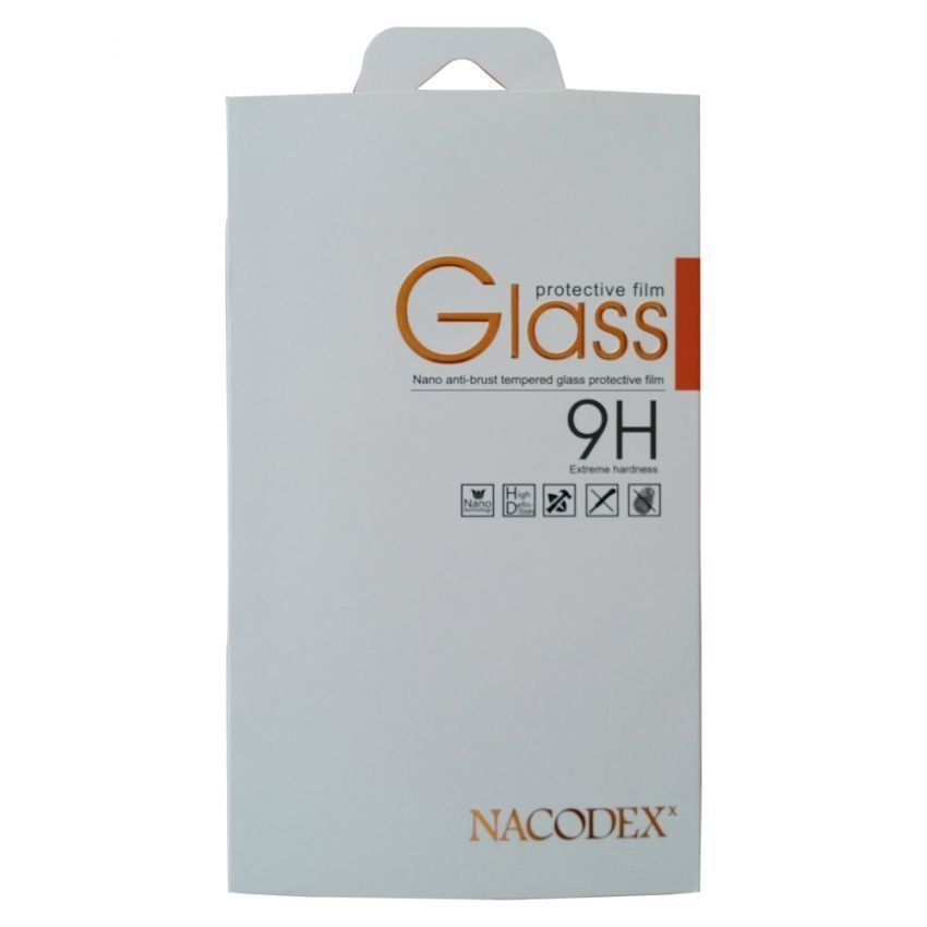 Nacodex 9h Premium Real Tempered Glass HTC ONE M8 - CLEAR