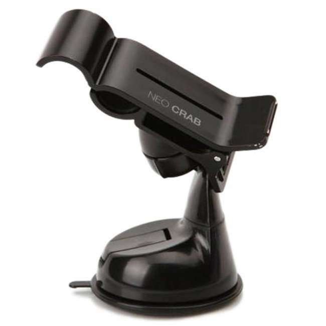 Neo Grab NEO GRAB_GR Smartphone Car Mount Holder Cradle for Samsung Galaxy S4, Note 2 and iPhone 4S/5 - Retail Packaging - Black