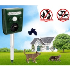 New 350g Green 191B Solar Animal Repeller for Cats Dogs Foxes Rats (Intl)