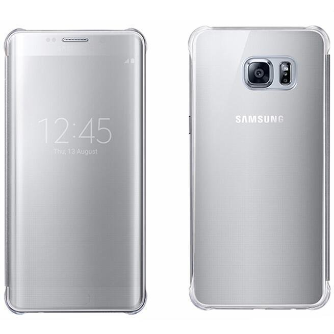 New Clear UV Mirror View Cover for Samsung Galaxy S6 Edge Plus (Silver) (Intl)