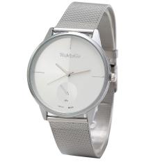 New Fashion Classic Womens Mens Quartz Stainless Steel Unisex Wrist Watch