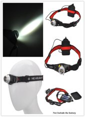 New GD22 800lm lumen CREE Q5 LED zoomable head lamp headlights (Intl)