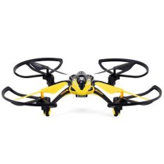 Newest Lishitoys L6052 Headless Mode Selection 2.4G 4 - Channel 6 - Axis RC Quadcopter 3D Eversion UFO with 1.3MP Camera - YELLOW - Intl