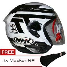 NHK R6 Beyond (Putih Silver) + Gratis Masker NP