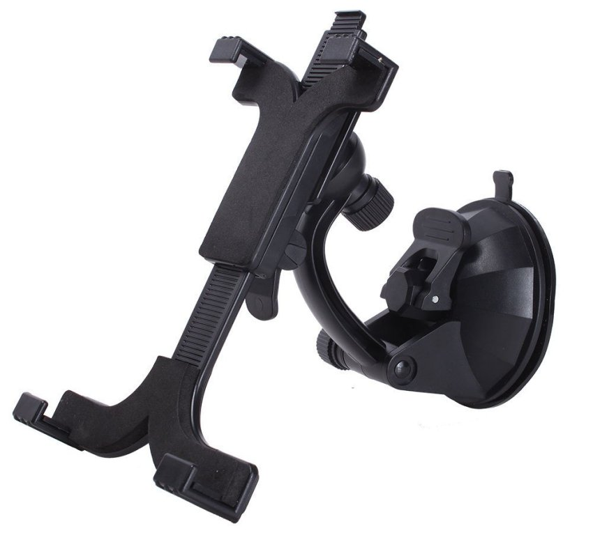 niceEshop Adjustable Dashboard Car Mount Holder Cradle Tablet Mount Holder for iPad 7-11 Inch Tablet