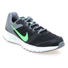 Nike Air Relentless 5 Msl Sepatu Lari Pria - Hitam-Hijau-Abu-Abu
