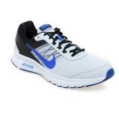 Nike Air Relentless 5 MSL Sepatu Lari Pria - Pure Platinum-Racer Blue-Hitam