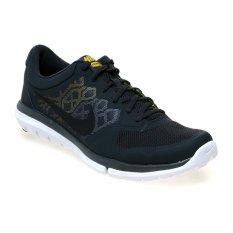 Nike Flex 2015 Running MSL Sepatu Lari Pria- Anthracite-Hitam-Varsity Mz-Opt Yellow