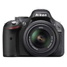 Nikon D5200 Lensa Kit 18-55mm - 24.1 MP - Hitam + Gratis Memori SDHC 8 GB - FS