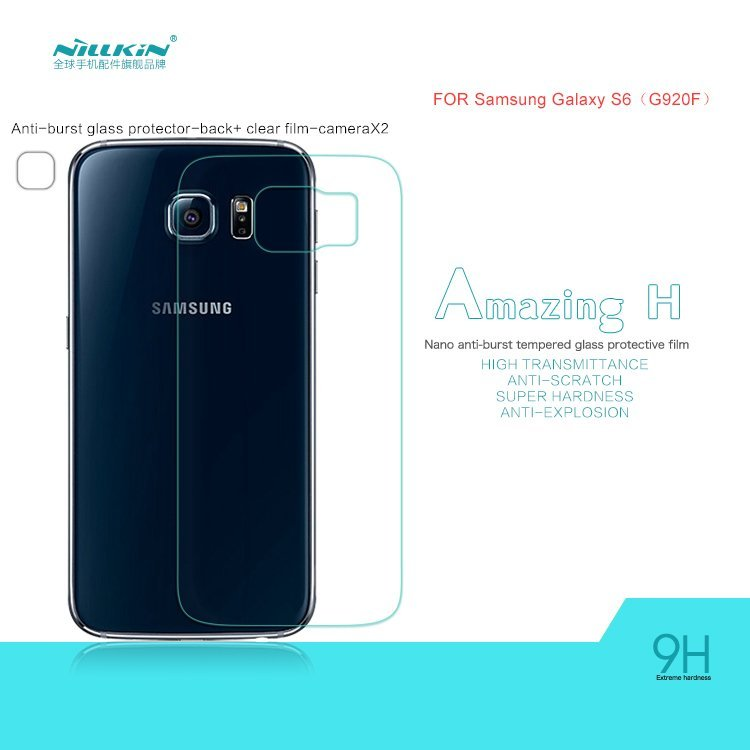Nillkin Anti-Explosion Tempered Glass Back Protector for Samsung Galaxy S6 G920F (Intl)