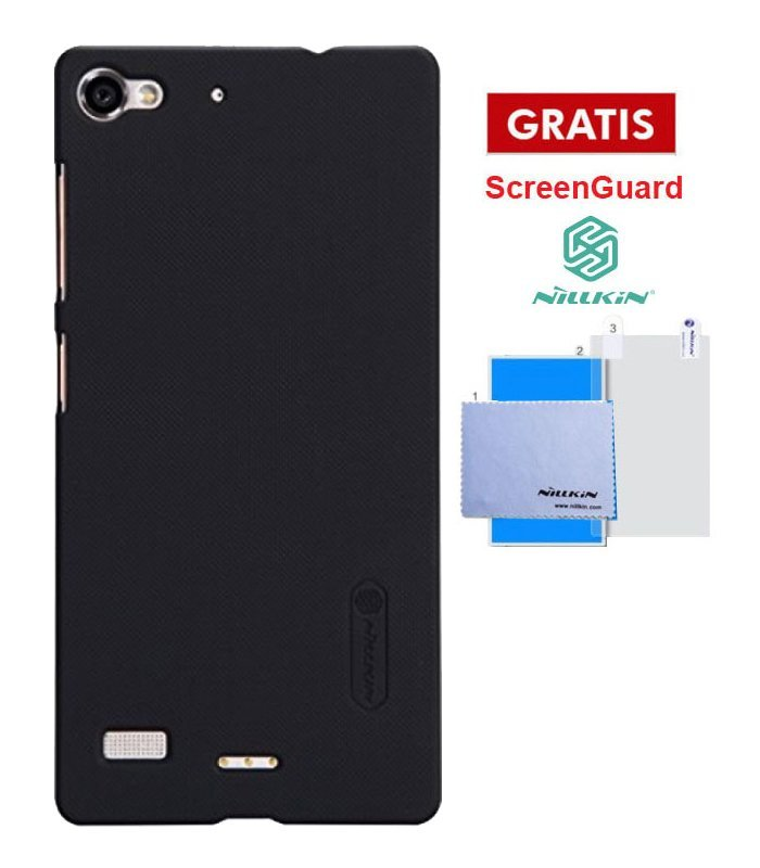 Nillkin LENOVO VIBE X2 Super Frosted Shield - HITAM + Screen Protector oleh Nillkin