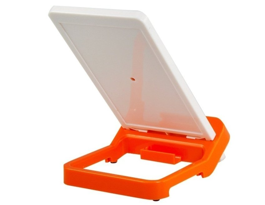 Niye 888 Universal Mobile Phone Stand Holder with Velcro (Orange)