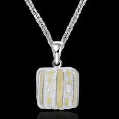 Noctilucent Pendant Necklace Trendy Hollow Pumpkin Shaped SLYYGN036-A - Intl