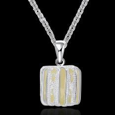 Noctilucent Pendant Necklace Trendy Hollow Pumpkin Shaped SLYYGN036-C - Intl
