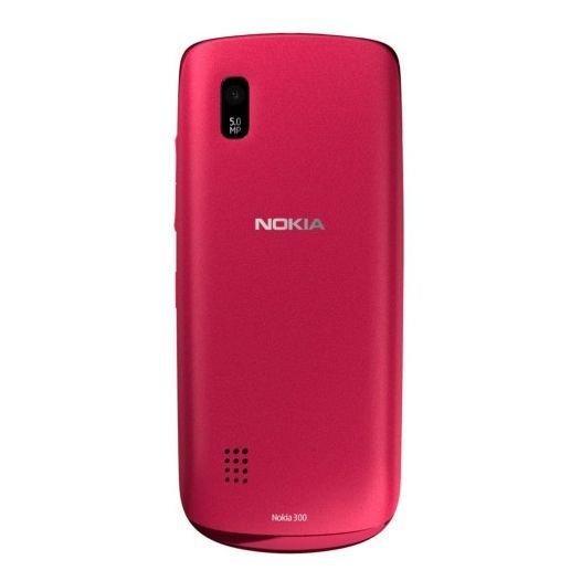Nokia Asha 300 - Merah