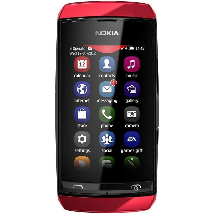 Nokia Asha 305 - Dual GSM - Merah