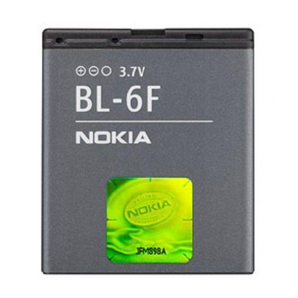Nokia Baterei BL-6F - Hitam