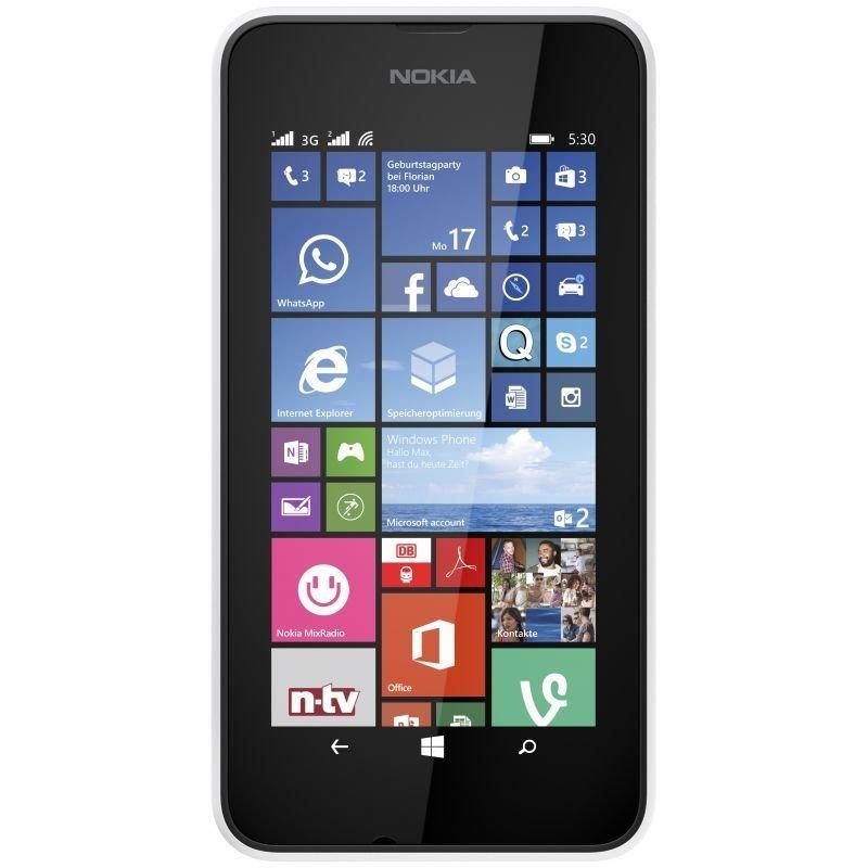 Nokia Lumia 530 Dual Sim - 4GB - Hitam