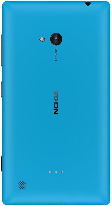 Nokia Lumia 720 Resmi - Cyan