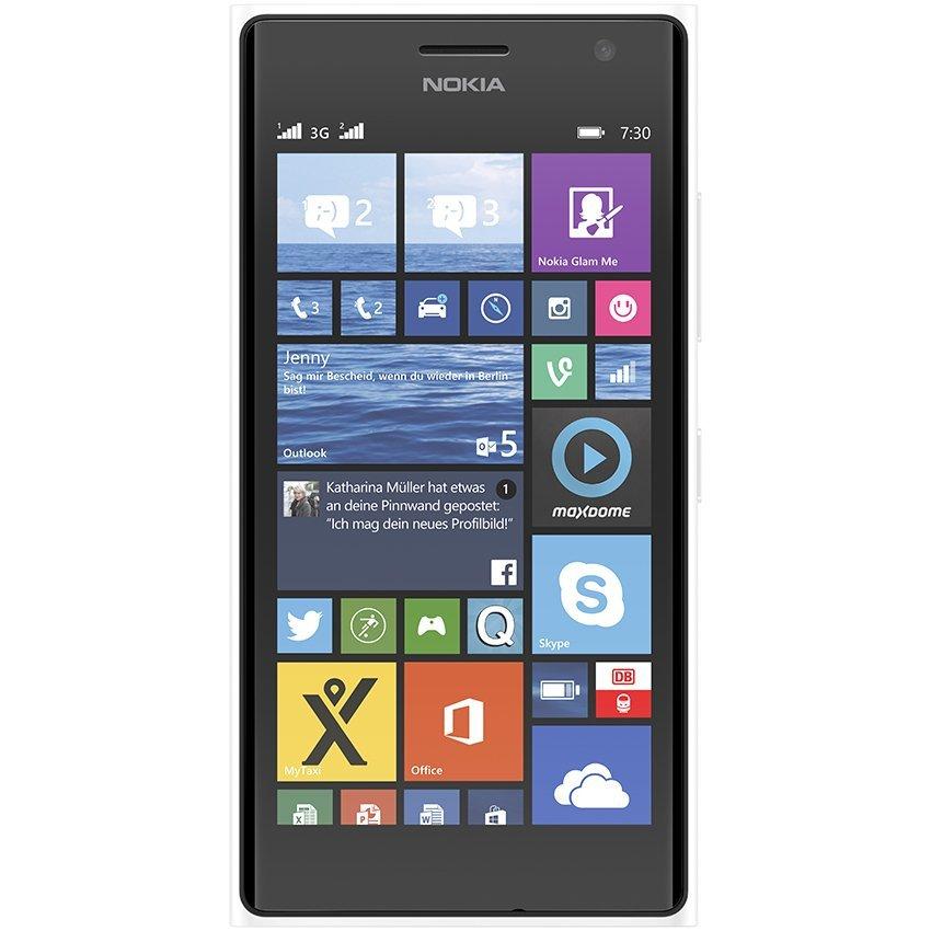 Nokia Lumia 730 Dual SIM - 8 GB - Putih