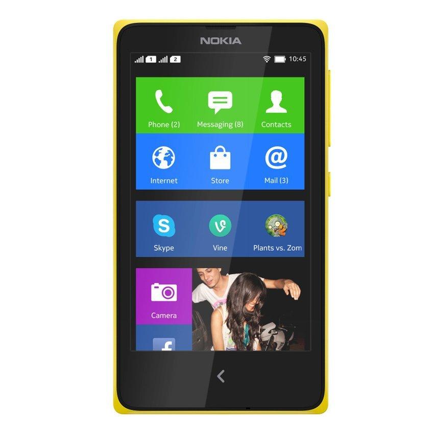 Nokia X Dual Sim - 4 GB - Kuning