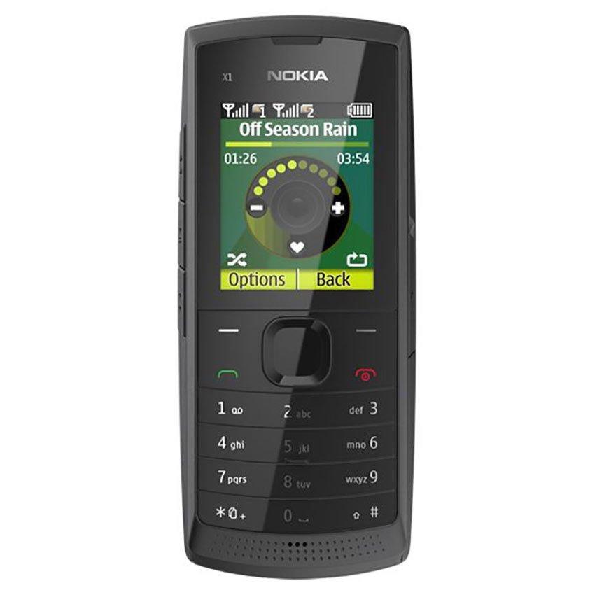 Nokia X1-01 - Dual GSM - Abu-abu Tua
