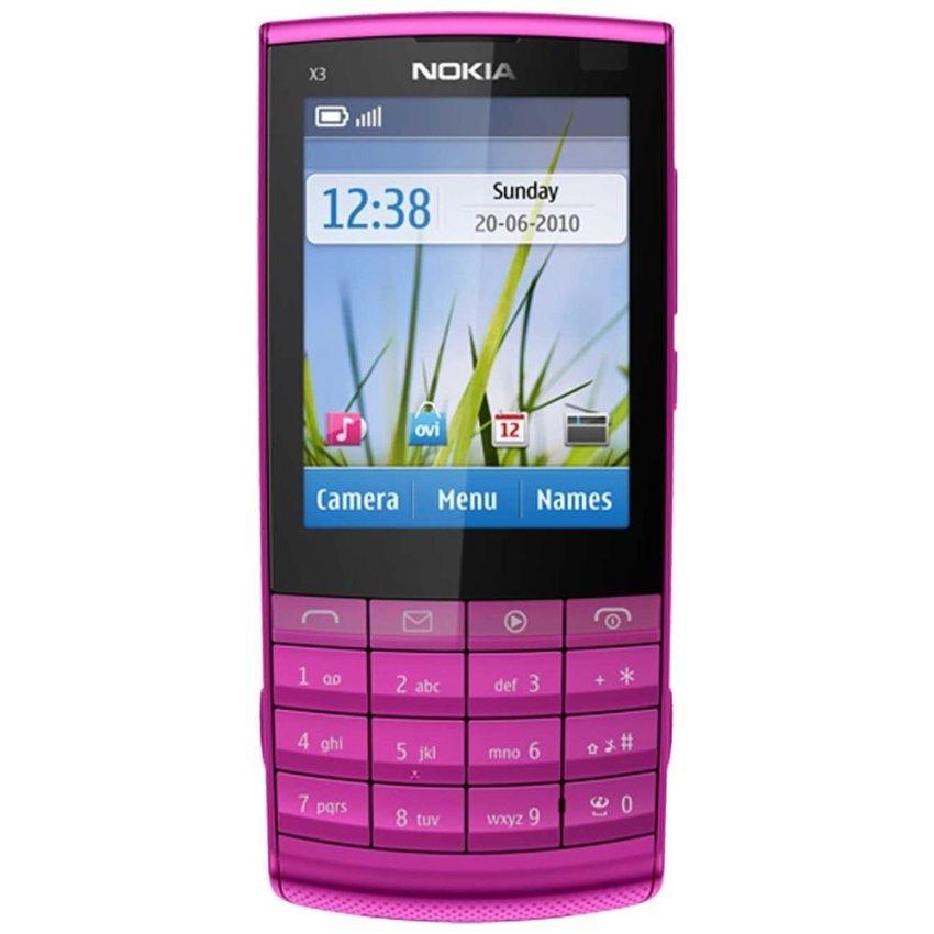 Nokia X3-02.5 - Pink