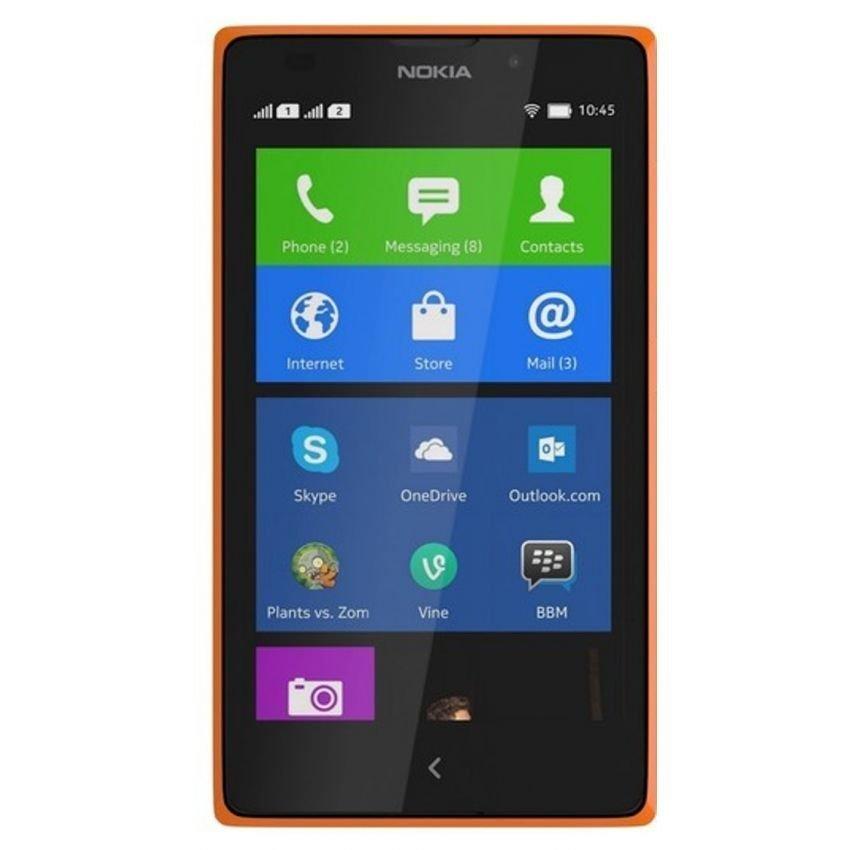 Nokia XL Dual Sim - 4 GB - Bright Orange