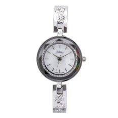 Nonof Julius Julius Elegant Luxury Fashion Diamond Bracelet Watch Waterproof Watch Watch Silver Strip