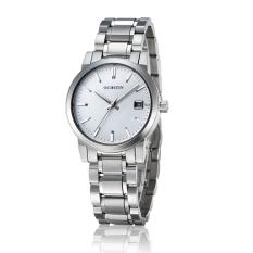 Nonvoful OCHSTIN Counter Brand Tide Female Form Steel Waterproof Ms. Quartz Watch Waterproof Watch (White)