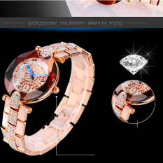 Oanda Sousou 2016 Nian New Shelves Explosion Models Ladies Watches Women Watch With Diamond Factory Direct Foreign Trade (Rose Gold)