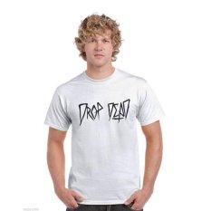 Ogah Drop T Shirt Drop Dead - Putih