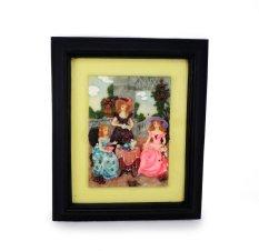 Ohome Decor Elegant Ladies 3D Picture Frame - SP3937