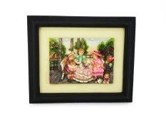 Ohome Decor Tea Time Children 3D Picture Frame - SP3938