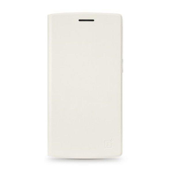 OnePlus One Flip Cover - Putih