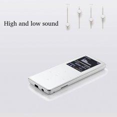ONN W6 Mini 8GB Bluetooth Mp3 FM Radio Music Media Sports (Silver)
