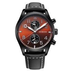 Ooplm Speed Sell Through The Explosion Of A Large Swiss Watch Dial Quartz Watch Fashion Men Really Strap Waterproof Watch Manufacturers Wholesale