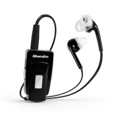 Original Bluedio EH Wireless Bluetooth 4.0 Headset Earphone Stereo Music Bluetooth Sport Headphone With Mic For All Smart Phone (Black) - Intl