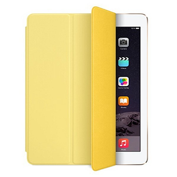 Original Official Leather Flip Protective Tablet Stand Case Ultra Slim Cover For Apple Ipad Pro 12.9 Inch Retina (Yellow) (Intl)