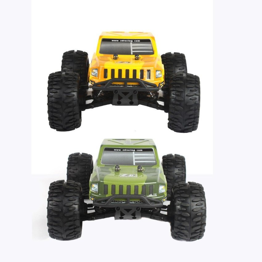 Original ZD Racing RC Car 9054 1/16 Scale 4WD Electric Brushed Monster Truck (Intl)