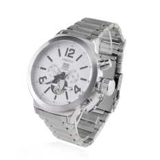 ORKINA 023 Men's Full Steel Automatic Self-wind Mechanical Dress Watches Date Display