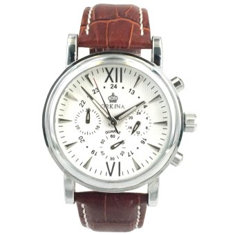 Orkina Men's Stainless Steel Case Chronograph Dial Japan Quartz Wrist Watch ORK-045X