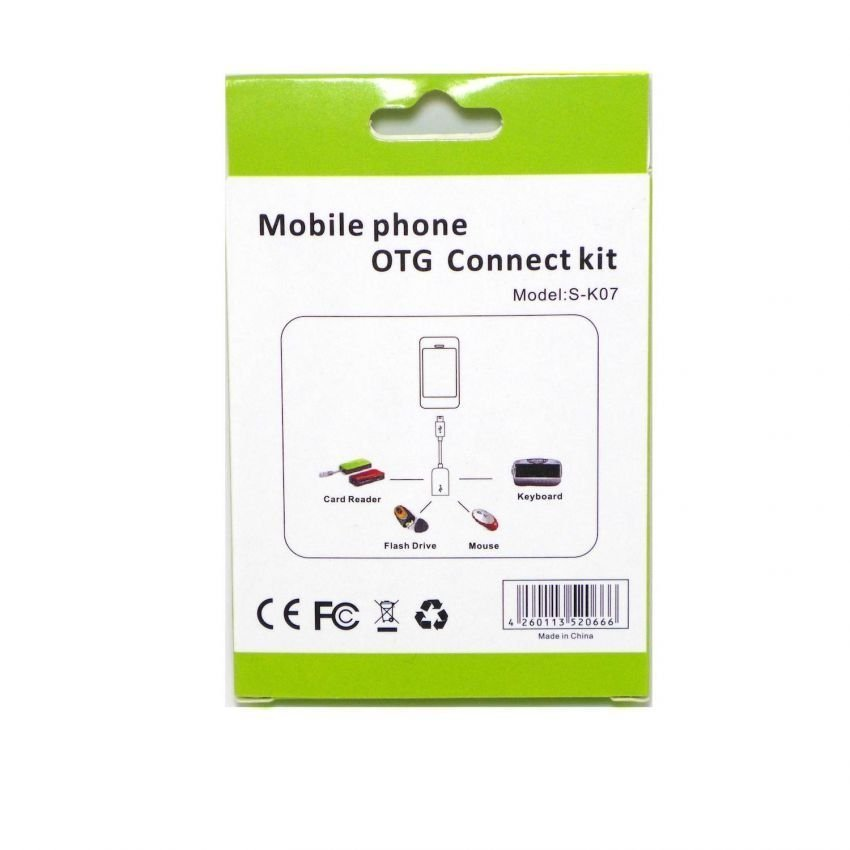 OTG Cable Connect Kit for Android - Hitam