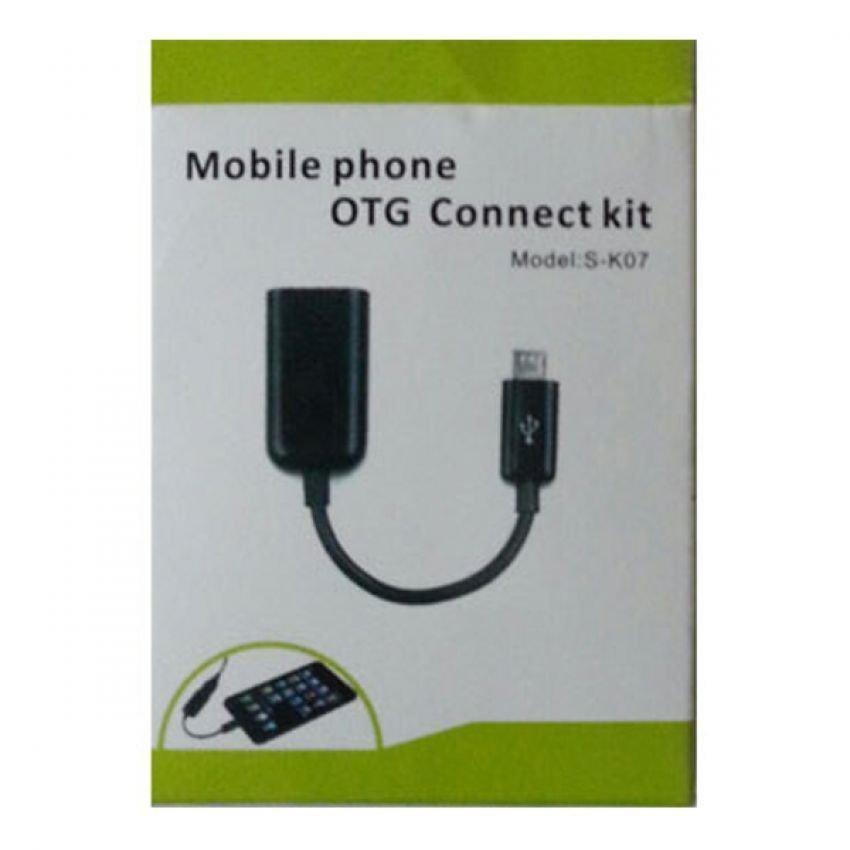 OTG Mobile Phone Connect Kit - Hitam
