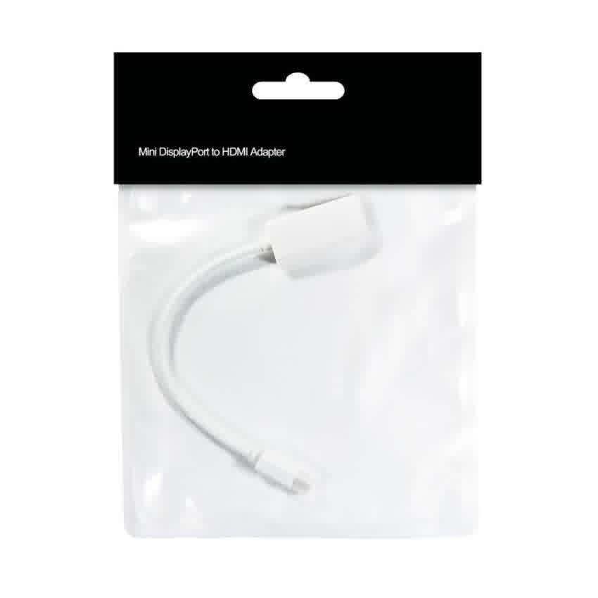 OTG USB Adapter Mini Displayport to HDMI Adapter - Putih