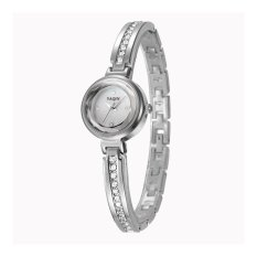Oxoqo Authentic Yaqin Watch Female Models 7214 Fashion Bracelet Ladies Watches (Silver)