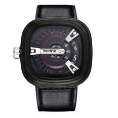 Oxoqo Foreign Selling SkoneSKONE Brand Sports Fashion Men's Luxury Watches Unique Square Dial